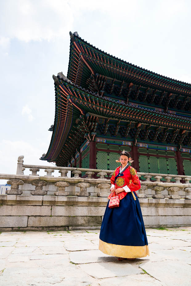 Korean national dress rental for tourists