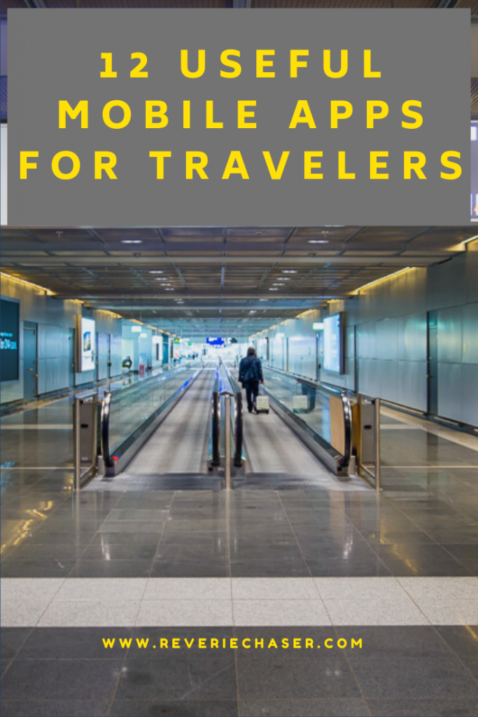 a list of mobile applications needed for travel