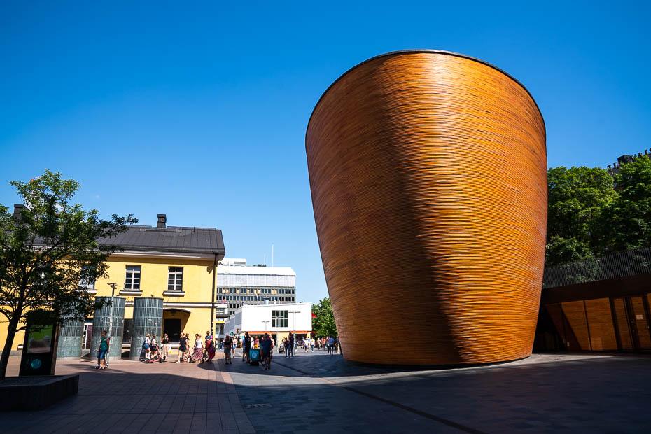 Kampi chapel in Helsinki