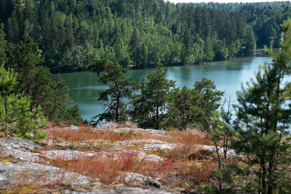 Vitträsk lake in Finland