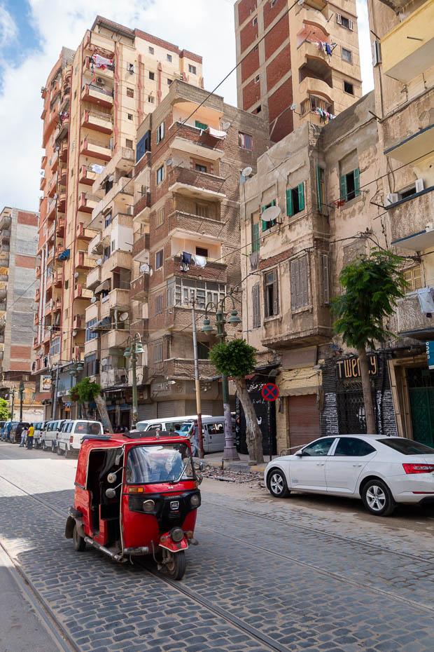 traffic in alexandria egypt