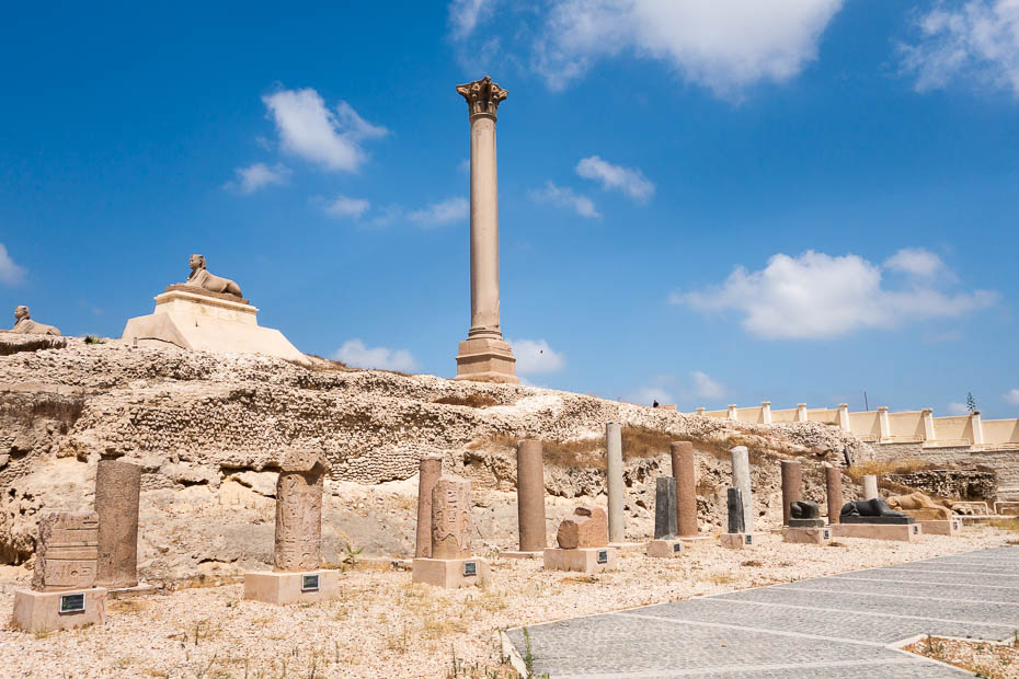 pompeii pilar alexandria serapeum