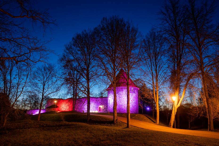 aluksne medieval castle
