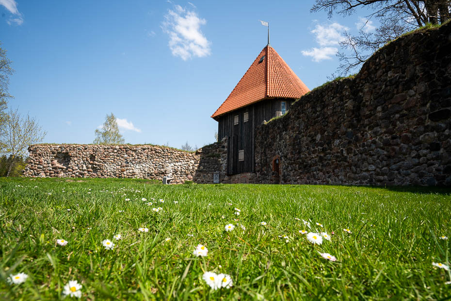 aluksne medieval castle south tower