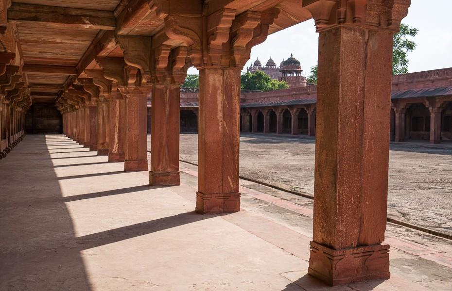 fatehpur sikri agra abandoned city uttar pradesh