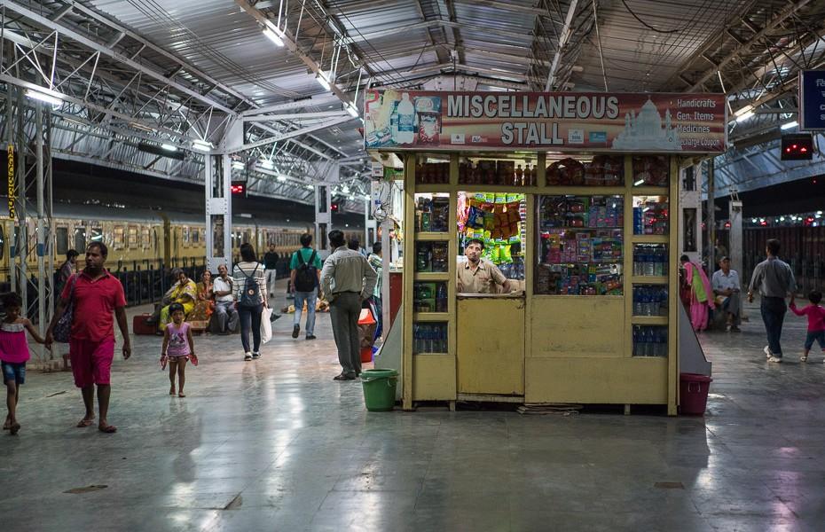kiosk india snacks railway station