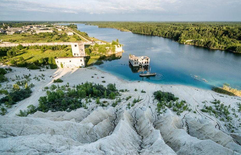 murru underwater prison in rummu estonia
