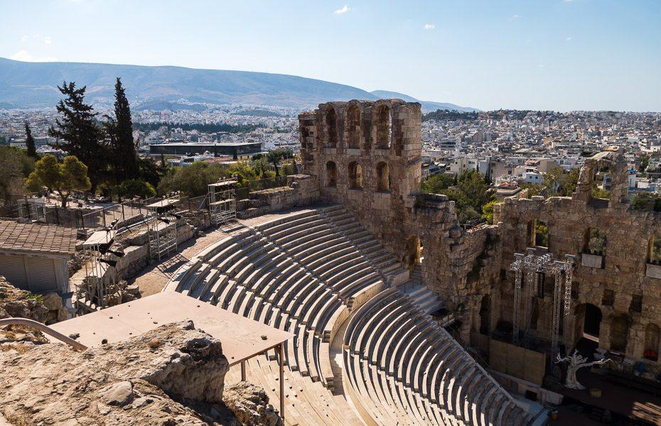 amphitheater greece acropolis