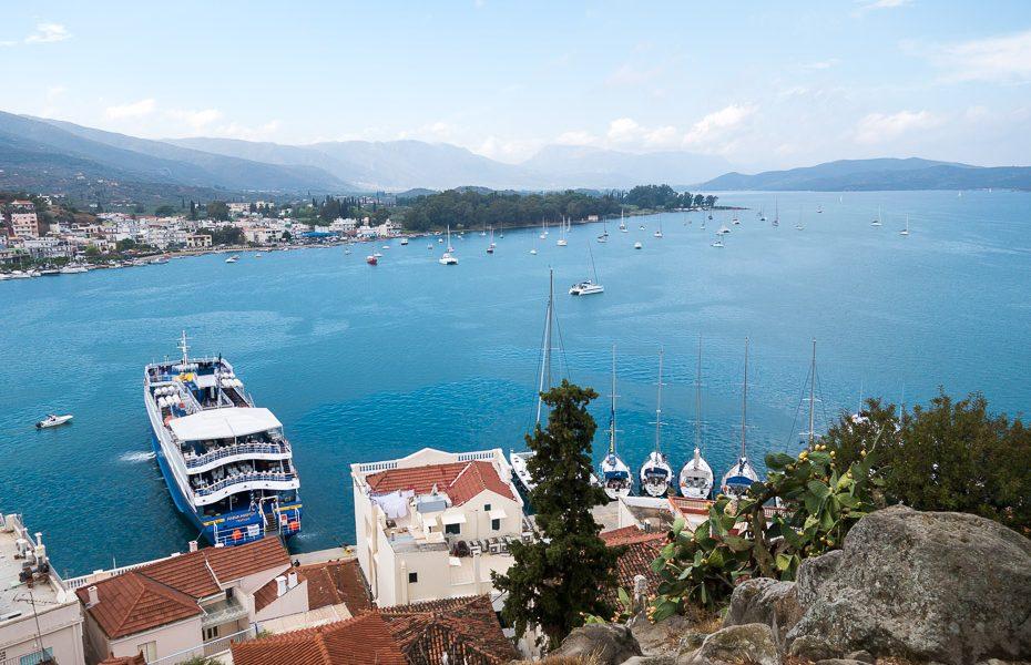 Bay in Poros