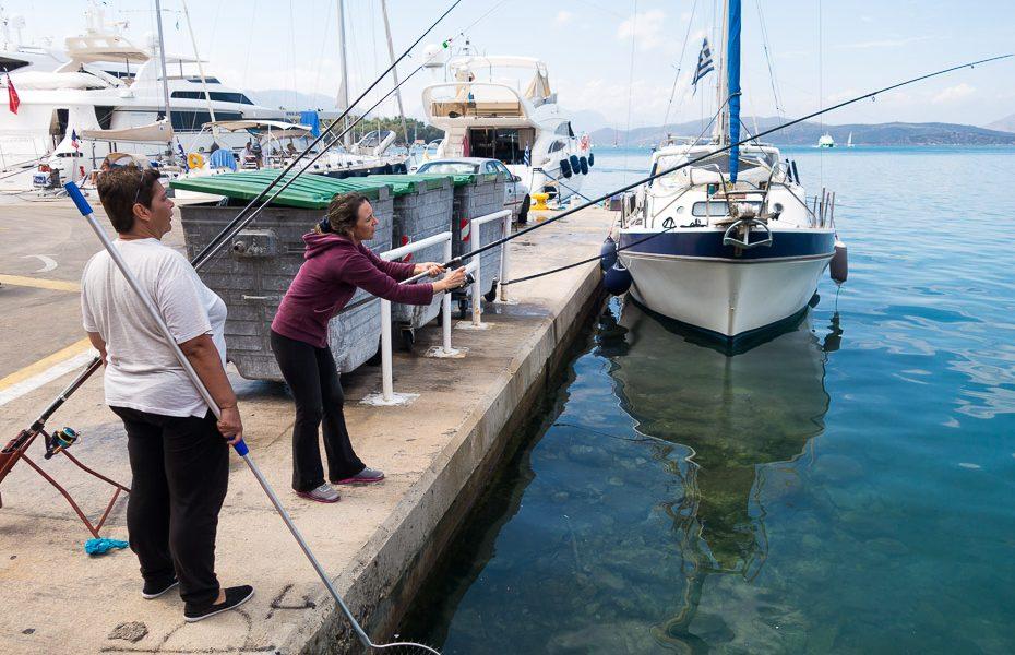 Fishing in Greece Poros