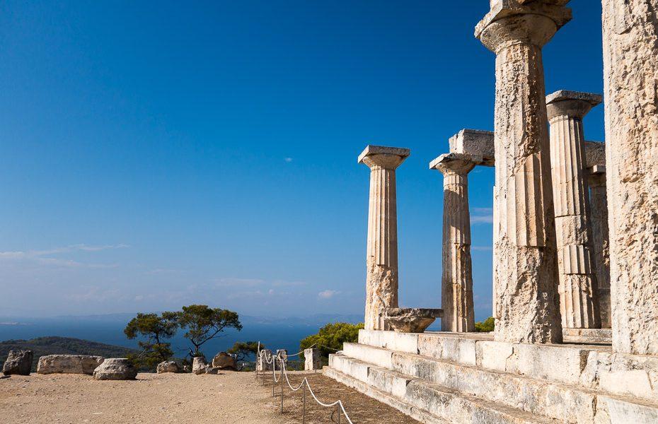 Aphae temple in Aegina