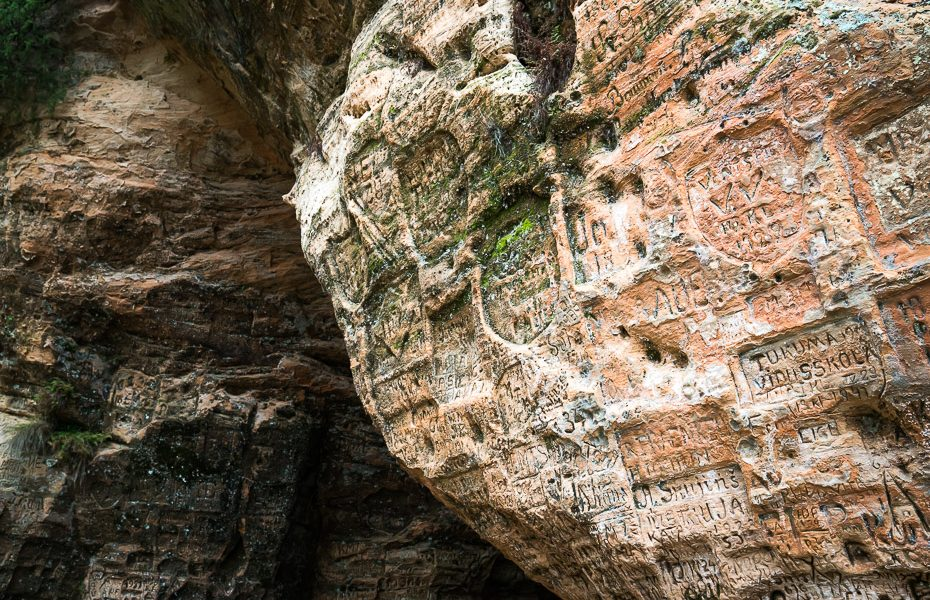 Largest grotto in Baltics Gutmana